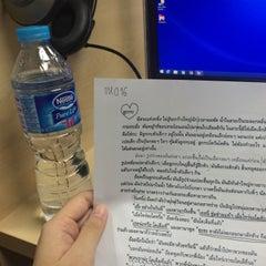 Photo taken at คณะการสื่อสารมวลชน (Faculty of Mass Communication) by Kaowhom N. on 11/17/2015