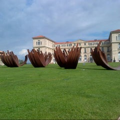 Photo taken at Palais du Pharo by Mado K. on 5/17/2013