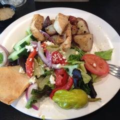 Photo taken at Taziki's Mediterrranean Cafe by Alexandra S. on 3/16/2014
