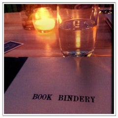Photo taken at Book Bindery by Alyssia L. on 6/3/2013