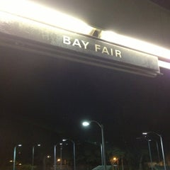 Photo taken at Bay Fair BART Station by Traci D. on 10/6/2012