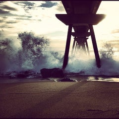 Photo taken at Pont del Petroli by Diego F. on 11/29/2012
