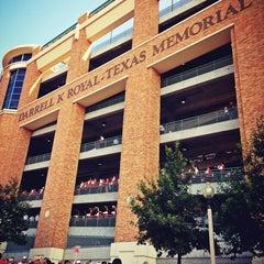 Photo taken at Darrell K. Royal-Texas Memorial Stadium by Hew on 8/31/2013