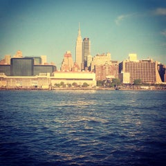Photo taken at NY Waterway Ferry Terminal Midtown by Scott H. on 5/8/2013