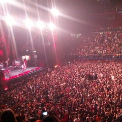 Photo taken at Mediolanum Forum by Xiao Z. on 4/13/2013