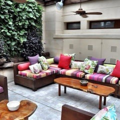 Photo taken at Hub Boutique Hotel by Carlos M. on 12/21/2012