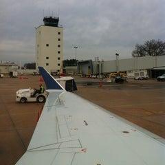 Photo taken at Greenville-Spartanburg International Airport (GSP) by Mitchel G. on 2/11/2013