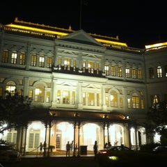 Photo taken at Raffles Hotel by Mk P. on 5/18/2013