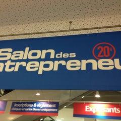 Photo taken at Salon des Entrepreneurs 2012 by Fred C. on 2/6/2013