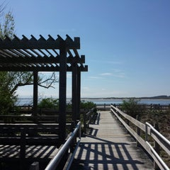 Photo taken at Sandy Point Plum Island Reservation by Alexey S. on 5/18/2014