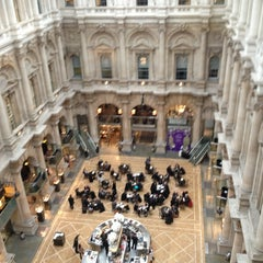 Photo taken at The Royal Exchange by Maria O. on 1/23/2013