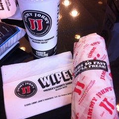 Photo taken at Jimmy John's by Tina Y. on 11/2/2012