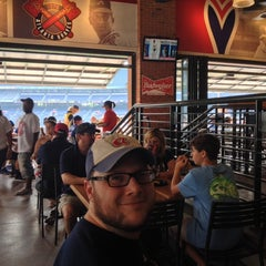 Photo taken at The Braves Chop House by Kristen J. on 8/16/2014