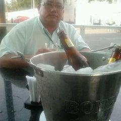 Photo taken at Aquarius chopperia & sushi bar by Augusto J. on 11/7/2012