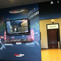 Photo taken at Sport Clips Haircuts by Dean G. on 9/29/2012