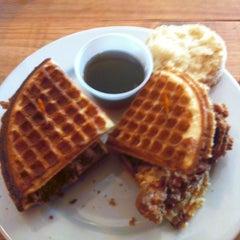Photo taken at Napa Valley Biscuits by Matt B. on 2/17/2013