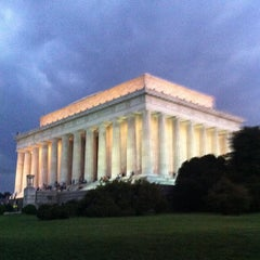 Photo taken at Lincoln Memorial by Rick B. on 7/26/2013