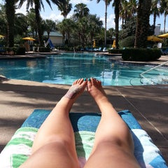 Photo taken at Marriott World Center Pool by Rachel S. on 4/10/2013