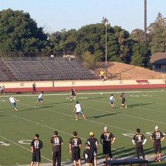 Photo taken at Foothill College Football Field by Jim B. on 6/1/2014