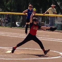 Photo taken at Tri Valley Softball Fields by Dan B. on 3/15/2014