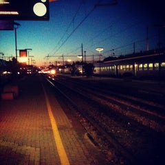 Photo taken at Stazione Rimini by Lorenzo N. on 9/21/2012