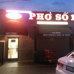 Photo taken at Pho So 1 by David R. on 10/22/2012