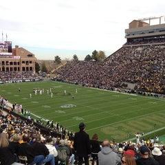 Photo taken at Folsom Field by Carla H. on 11/3/2012