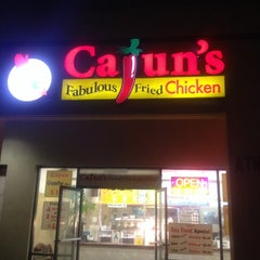 Photo taken at Cajun's Fabulous Fried Chicken by Mike A. on 9/21/2013