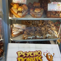 Photo taken at Psycho Donuts by Gagan K. on 5/18/2013