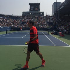 Photo taken at Grandstand - USTA Billie Jean King National Tennis Center by EArchitect on 9/2/2015