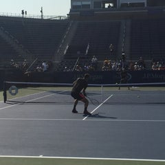 Photo taken at Grandstand - USTA Billie Jean King National Tennis Center by EArchitect on 9/1/2015