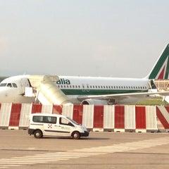 Photo taken at Aeroporto Internazionale di Lamezia Terme (SUF) by Igor Z. on 7/13/2013