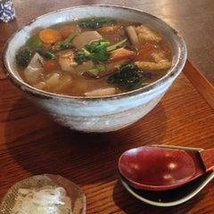 Photo taken at 手打そば くりはら by swallowtrip on 1/12/2015