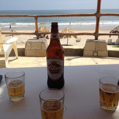 Photo taken at Playa Vichayito by Jean A. on 5/25/2013