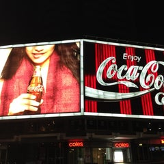 Photo taken at The Coca-Cola Billboard by Dr Alex M. on 9/24/2012