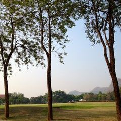 Photo taken at Mida Golf Club by Achisuka J. on 3/1/2014
