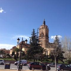 Photo taken at Catedral de Guadix by Juan Antonio G. on 4/14/2013