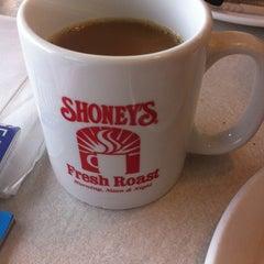Photo taken at Shoney's by Elaine K. on 3/18/2013