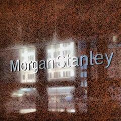 Photo taken at Morgan Stanley by Sam G. on 1/8/2014