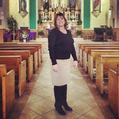 Photo taken at Our Lady Of Solitude Church by Corey C. on 1/18/2013
