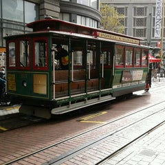 Photo taken at Powell Street Cable Car Turnaround by C A. on 10/25/2012