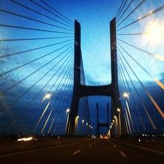 Photo taken at Ponte Vasco da Gama by Anastasee on 5/7/2013