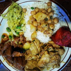 Photo taken at Indian Cuisine by Christopher J. on 5/9/2013
