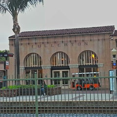 Photo taken at Metrolink Fullerton Station by Paul C. on 4/16/2013