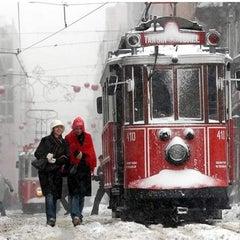 Photo taken at İstiklal Caddesi by Ömer E. on 1/10/2013