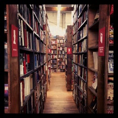 Photo taken at Strand Bookstore by Candy S. on 11/16/2012