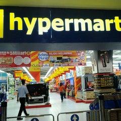 Photo taken at hypermart by Samjoy A. on 1/14/2013