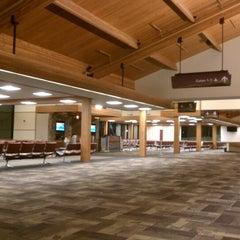 Photo taken at Bozeman Yellowstone International Airport (BZN) by William Y. on 1/30/2013