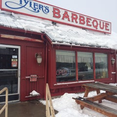 Photo taken at Tyler's Barbeque by Shawn D. on 1/30/2015