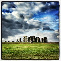 Photo taken at Stonehenge by Alban V. on 2/16/2013